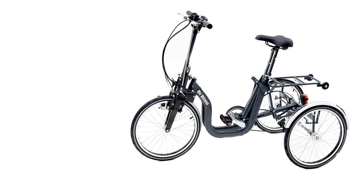 Triciclo Adulti Pieghevole Di Blasi
